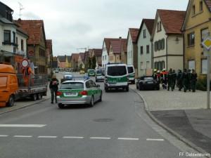Bombenfund Bergrheinfeld