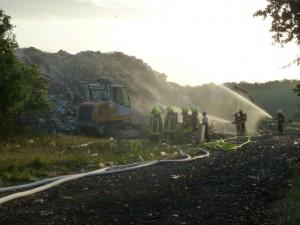 Abfallhaufenbrand Rothmühle