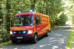 Brand Lagerhalle – Werneck