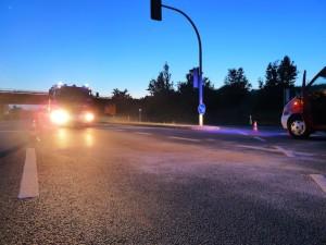 Betriebsmittel nach Verkehrsunfall aufnehmen