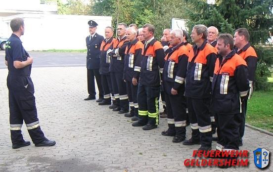 Passivenübung 2009 Feuerwehr Geldersheim