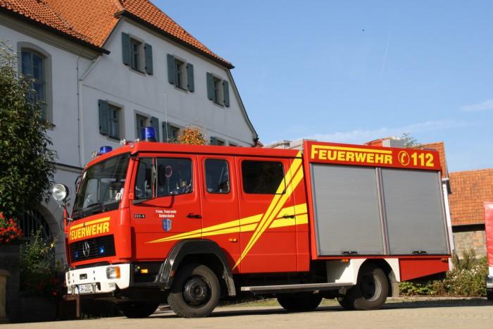 Feuerwehr Geldersheim - Löschgruppenfahrzeug 8/6