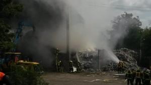 Abfallhaufenbrand Bergrheinfeld