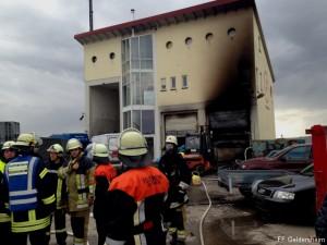 Werkstattbrand Gochsheim