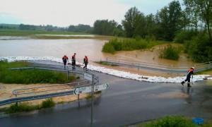 Hochwasser in Geldersheim