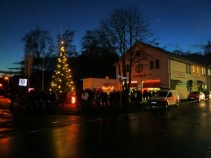 Adventliche Feier - Feuerwehr Geldersheim