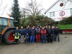 Christbaumsammlung - Feuerwehr Geldersheim