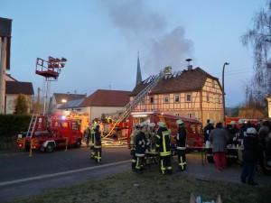 Gebäudebrand Altenmünster