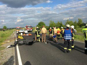 Tödlicher Verkehrsunfall B303 – Sömmersdorf