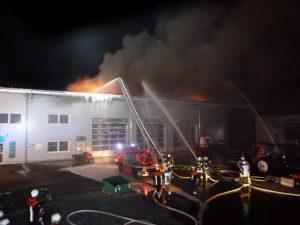 Werkstattbrand Abersfeld