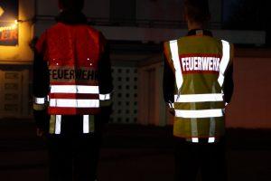 Neue Warnwesten - Feuerwehr Geldersheim