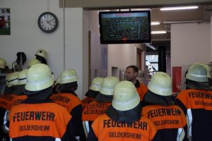 Passivenübung - Feuerwehr Geldersheim
