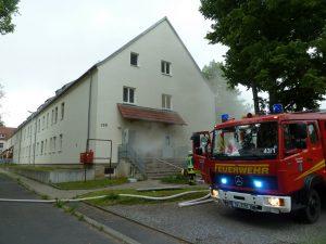 Alarmübung Conn Baracks - Feuerwehr Geldersheim