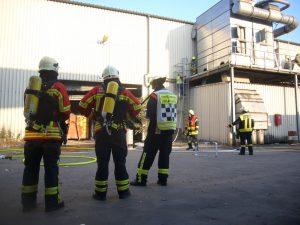 Brand Entsorgungsbetrieb Bergrheinfeld