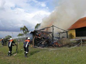 Brand Bauernhof Altenmünster