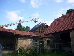 Scheunenvollbrand Werneck