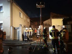 Scheunenbrand Gochsheim