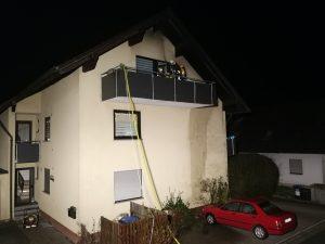 Brand Balkon Geldersheim