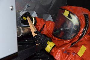 ABC-Zug Übung - Feuerwehr Geldersheim