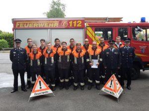 Leistungsprüfung 2018 - Feuerwehr Geldersheim