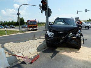 Verkehrsunfall B303 / A71