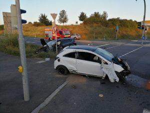 Schwerer Verkehrsunfall B303