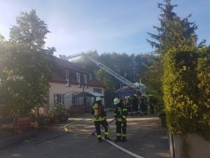 Wohnheimbrand Düttingsfeld
