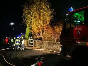 Scheunenvollbrand Bergrheinfeld