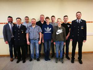Dienst- und Generalversammlung - Feuerwehr Geldersheim