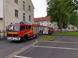 Brandmeldealarm Ankerzentrum Geldersheim