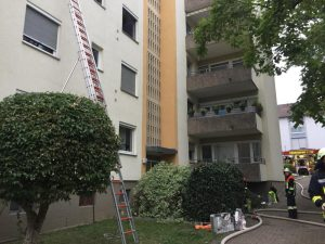 Wohnungsbrand Niederwerrn