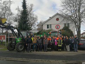 Christbaumsammlung 2020 - Feuerwehr Geldersheim