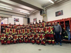 Neue Schutzanzüge - Feuerwehr Geldersheim