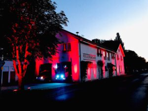 Night of Light - Feuerwehr Geldersheim