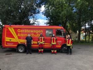 Erfolgreiche Fahrprüfung - Feuerwehr Geldersheim