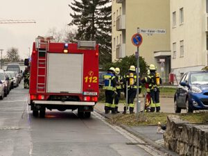 Rauchentwicklung in Hochhaus Schweinfurt