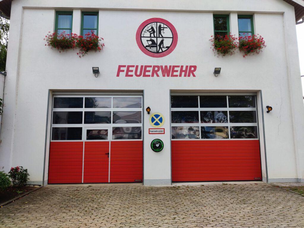 Feuerwehr Geldersheim Defibrillator (AED)